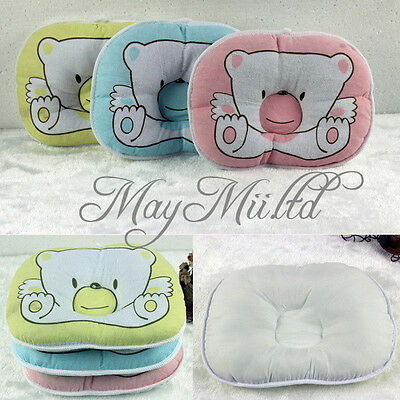 Baby Infant Sleeping Pillow Neck Positioner Prevent Flat Head Support Pillow G