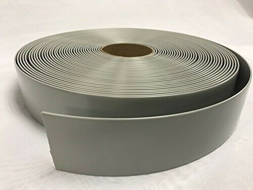 """Gray 2/""""x100/' Ft Vinyl Patio Lawn Furniture Repair Strap Strapping"""