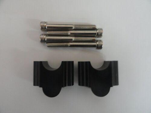 7//8 Universal Handlebar Risers Honda xr 350r 1983-1985 BLK HDM-OFFROAD
