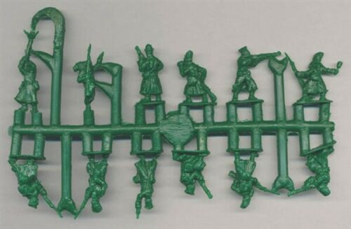 Contains 1 Sprue Strelets 1//72 Scale WWI Russian Infantry in Gasmasks Figures