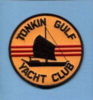Tonkin Gulf Yacht Club Vietnam War Us Navy Ship Squadron Cruise Jacket Patch