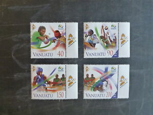 2014-VANUATU-RIO-OLYMPIC-GAMES-SET-4-MINT-STAMPS-MNH