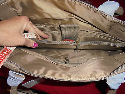Notebook-Tasche taupe neu