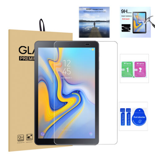 2-Pack Samsung Tab A 10.1 SM-T515//T510 Tempered Glass Screen Protector NO-Bubble