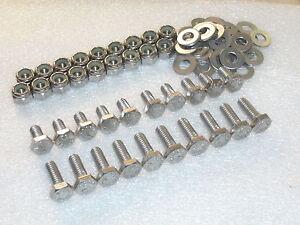 80pc-Triumph-Bonneville-T140-T120-Mudguard-Fixing-Stainless-Bolt-Nut-washer-kit