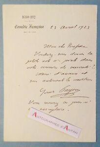 L-A-S-1923-Louis-PAYEN-Librettiste-Comedie-francaise-entourage-Jules-Massenet
