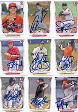 Michael Mader signed 2014 Bowman Draft Prospect BDP Rookie card auto