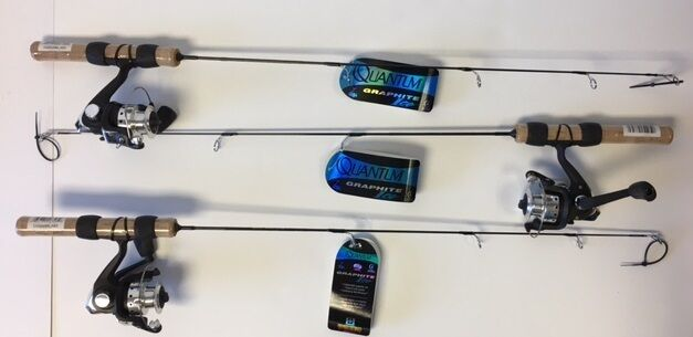 Quantum  Zebco Graphite Ice Fishing Combo Sold in a lot of 3 - CQGI428M  hot sale online
