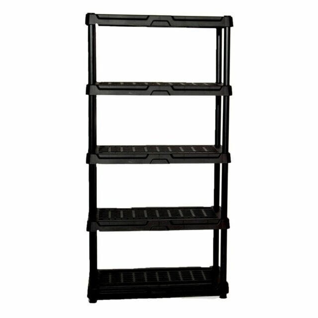 Trinity Storage Shelving Unit 75 In H X 36 In W Multi Purpose 5 Tier Chrome For Sale Online Ebay
