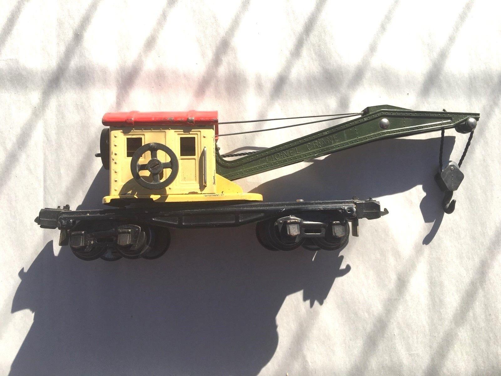 1941-42 Lionel 2660 grúa con ob parcial