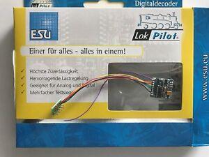 +++ Esu 54620 Lokpilot Fx V4.0, Fonction Décodeur Mm/dcc/sx 8-pol. Connecteur Nem652-er Mm/dcc/sx 8-pol. Stecker Nem652 Apparence Brillante Et Translucide