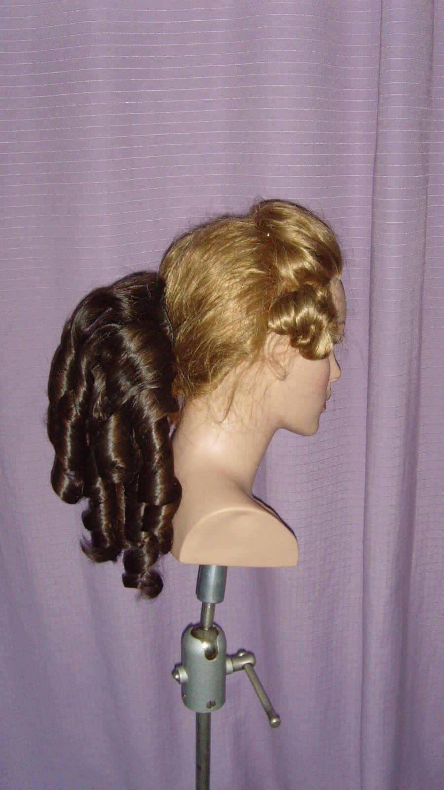 Echt Haarteil für für für histor. Frisuren, Brautfrisur, Biedermeier, Jane Austen u.a. | Zahlreiche In Vielfalt  | Produktqualität  | Lass unsere Waren in die Welt gehen  | Verschiedene Waren  5d49bf