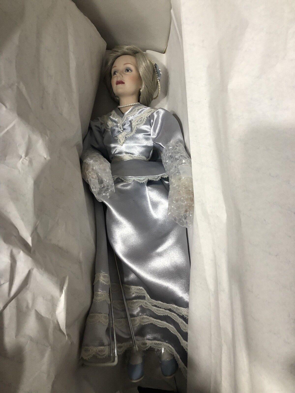 Porcelain Dolls Wedding Day Final Touches
