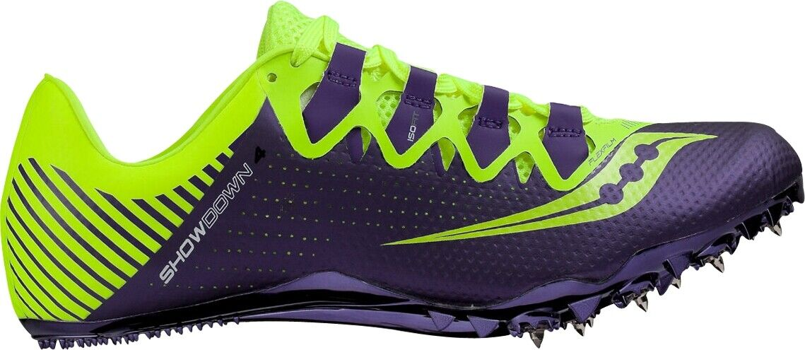 Saucony Showdown 4 Womens Running Spikes - Purple