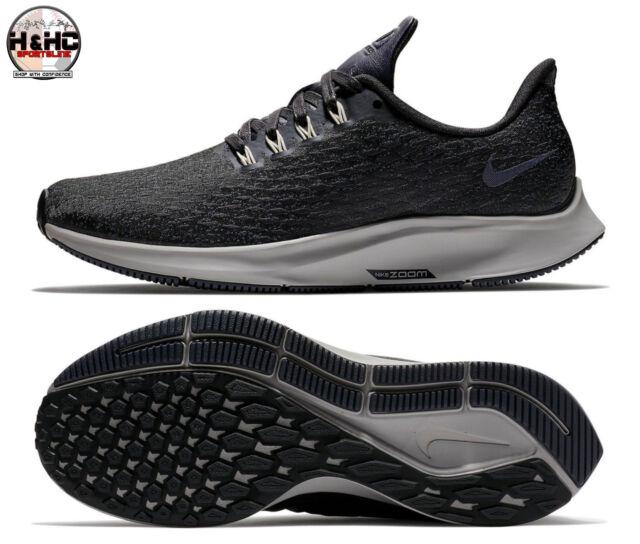 Nike Air Zoom Pegasus 35 Premium AH8392 001 Grey Women's Running Shoes Sz 6.5