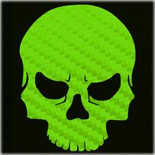 Carbon Fiber Skull Sticker Buy 1 Get 1 Free Carbon Molon Skull Decal Bogo
