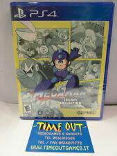 MEGAMAN LEGACY COLLECTION PS4 USA REGION FREE NUOVO SIGILLATO