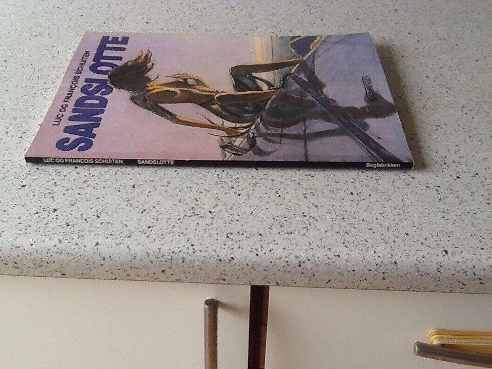Sandslotte pænt album, Luc og francois schuiten,