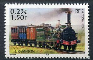STAMP-TIMBRE-FRANCE-NEUF-N-3408-CHEMIN-DE-FER-TRAIN-CRAMPTON