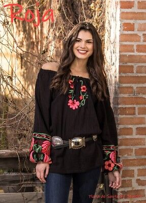 "ROJA~ Embroidered /""FIESTA COAT/"" With Fringe Sleeves"
