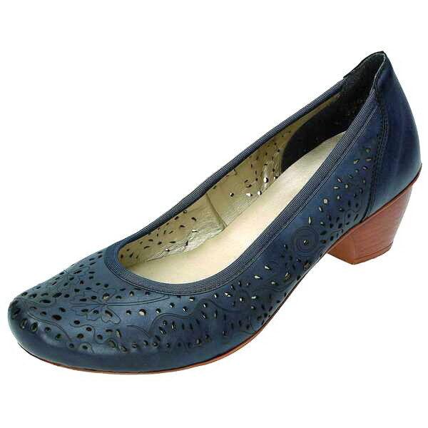 Rieker Femme Escarpins, bleu, Art. 47665-14 +++ NEUF ++++