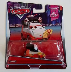 Image Is Loading Cars 2 OKUNI Mattel Disney Pixar