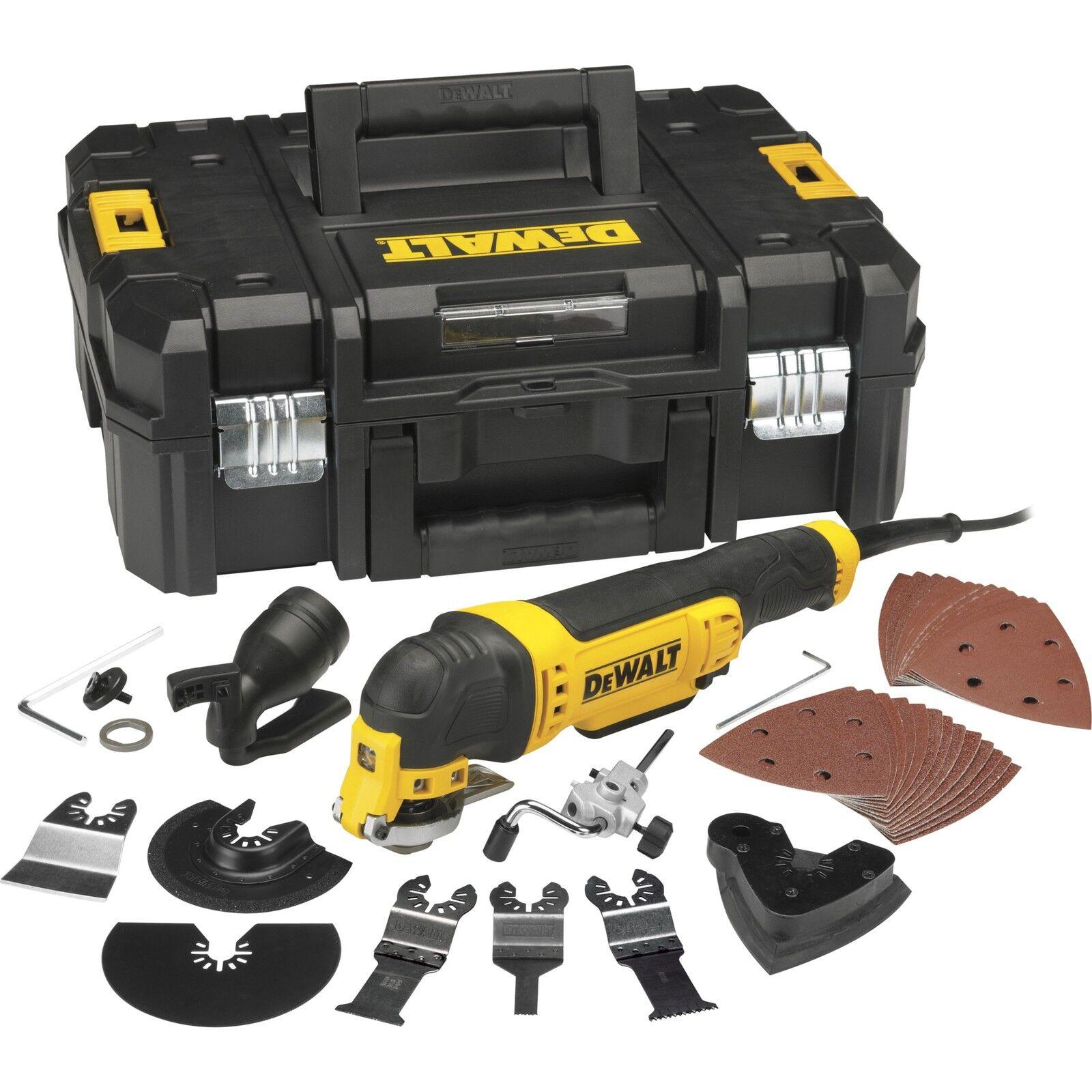 DeWalt Multifunktions-Werkzeug DWE315KT Set, gelb
