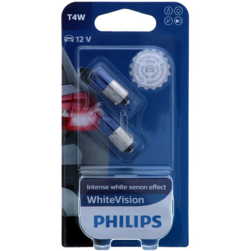 PHILIPS WhiteVision Intensiver Xenon-Effekt Halogen Scheinwerfer Lampe B-Ware