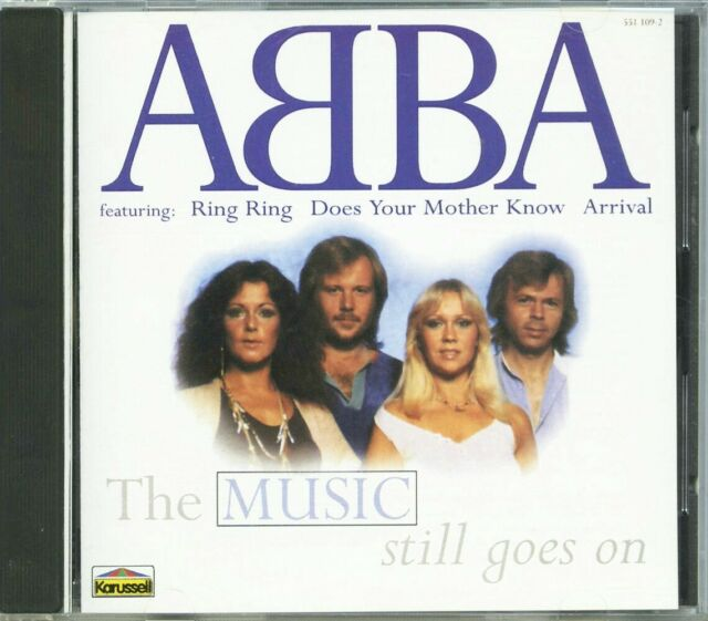 ABBA - THE MUSIC STILL GOES ON (1998) CD (LIMITED EDITION)
