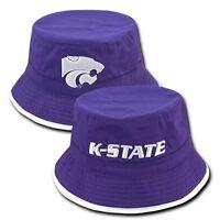 Kansas K State University Ksu Wildcats Ncaa Cotton Bucket Sun Boonie Cap Hat