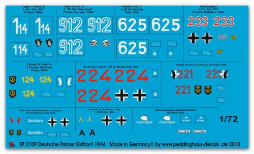1//72 ep 2109 Deutsche Panzer Ostfront 1944
