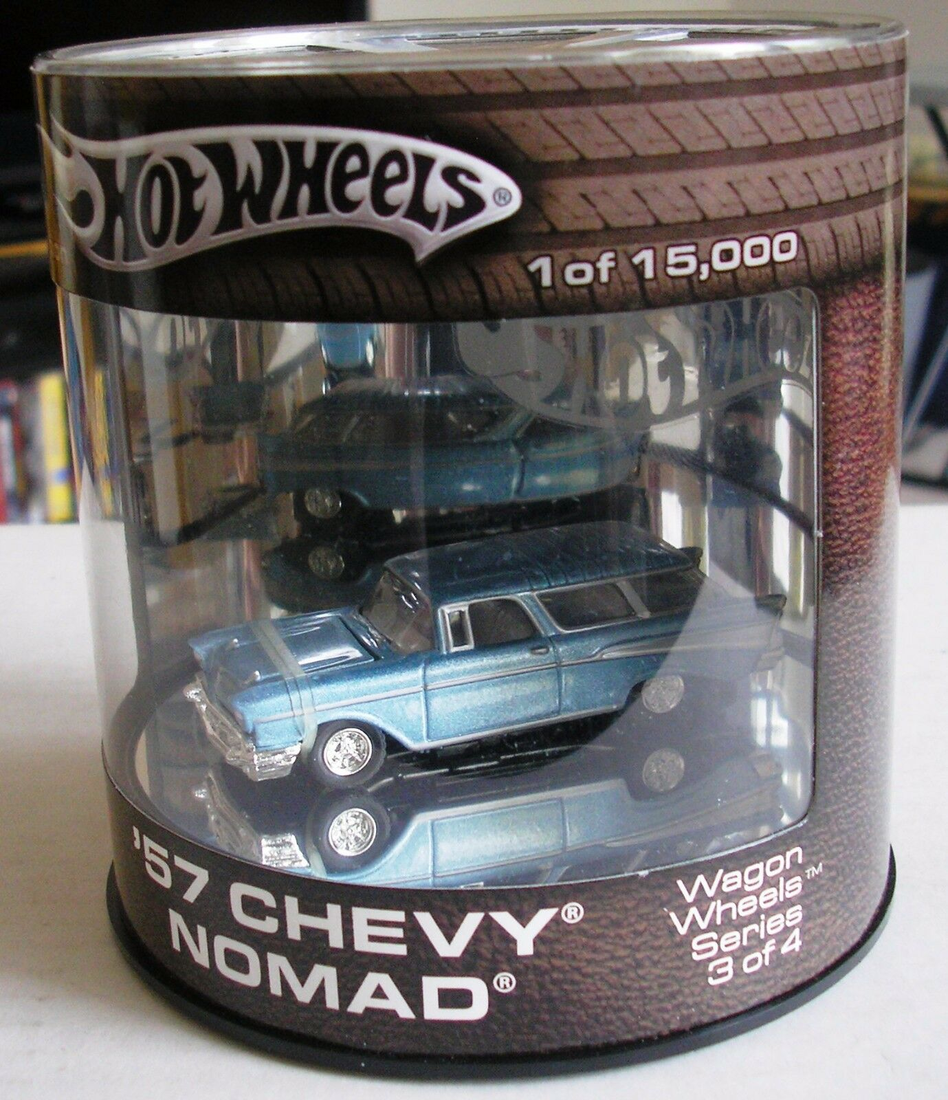 HOT WHEELS - OIL CAN - CANADIAN EXCLUSIVE - 57 CHEVY NOMAD - WAGON WHEELS SERIES