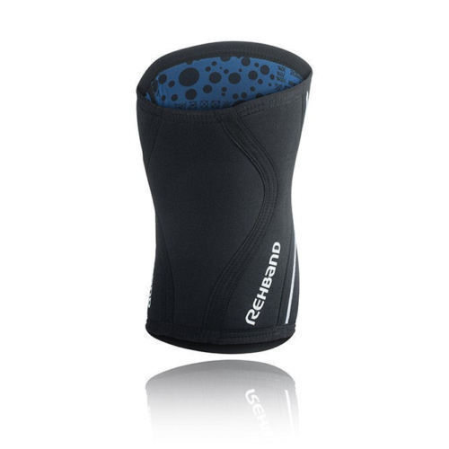 Rehband Rx Knee Support Black S XL 105406-03 Neoprene Sport Brace 7 mm