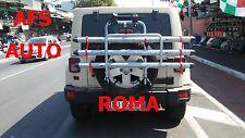 PORTABICI POSTERIORE 3 BINARI JEEP WRANGLER SAHARA 2007 OMOLOGATO MADE IN ITALY