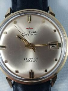 Waltham automatic mans  watch, collector watch , working!