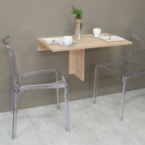 Klapptisch Wandtisch Klappi Eiche Sägerau Esstisch Küchen Tisch