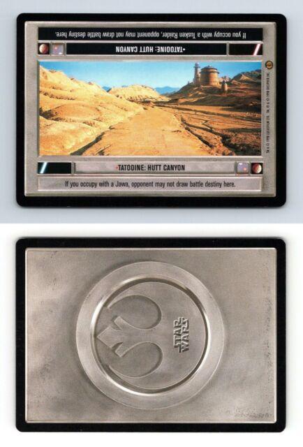 Star Wars CCG Jabbas Palace Card Tatooine Hutt Canyon