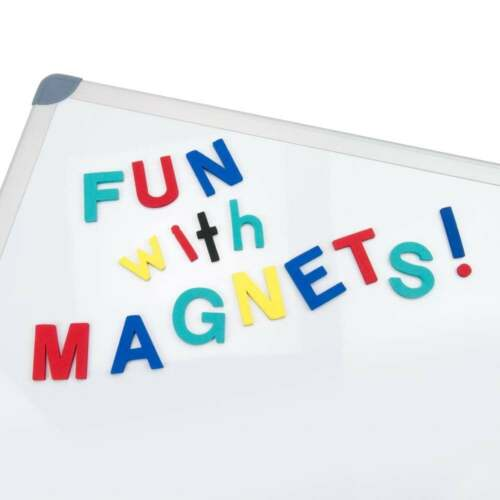 108 Lowercase Magnetic Foam Letters Red /& Blue Punctuation