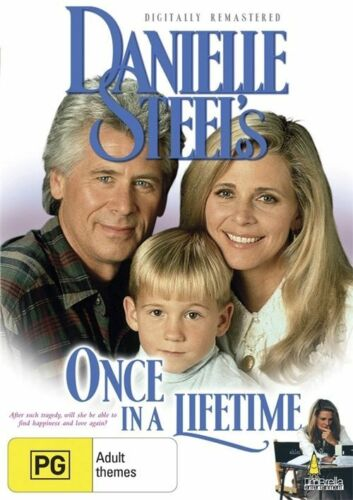 1 of 1 - Danielle Steel's -Once In A Lifetime -DVD BRAND NEW STILL SEALED FREE POST AU R4