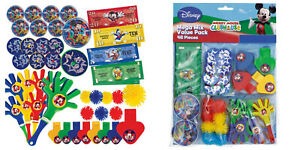 MICKEY-MOUSE-48-piece-Mega-Value-Pack-Favours-Loot-Kids-Birthday-Party
