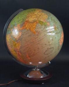 beleuchtbarer-Globus-Columbus-Erdglobus-zierliche-Ausfuehrung