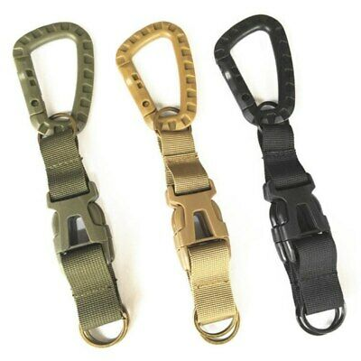 Hunting Anti-theft Telescopic Hanging Buckle Keychain Secure Rope Strap Clamp