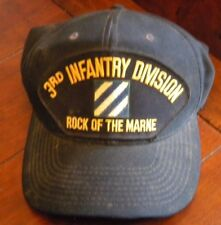 3rd Infantry Division Rock of the Marine hat with Patch