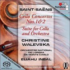 Saint-Saens: Cello Concertos Nos. 1 & 2; Suite for Cello and Orchestra, New Musi