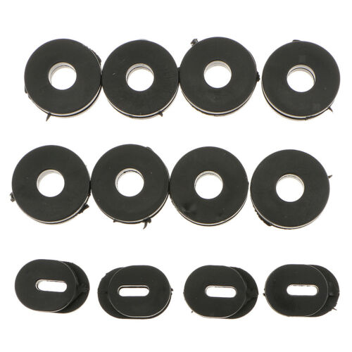 12x Black Rubber Side Cover Grommets for GS125 Suzuki Motorcycle Motorbike