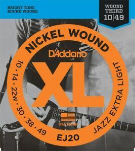 D-039-Addario-Guitar-Strings-Electric-Jazz-Extra-Light-EJ20-10-49-Wound-3rd