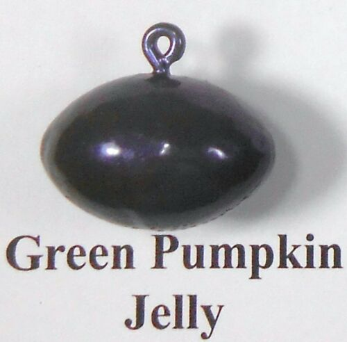 Swing Jig 3//0 12 Green Pumpkin Colors