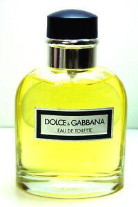eec07a2e75 Dolce & Gabbana POUR HOMME EDT Spray TSTR 4.2oz / 125ml NEW VINTAGE ...
