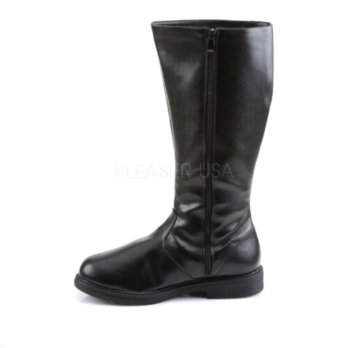 Pleaser Hero Pirate Super 100 Captain Fancy Mens Dress Funtasma Nero Boots 6qxrU6Rw