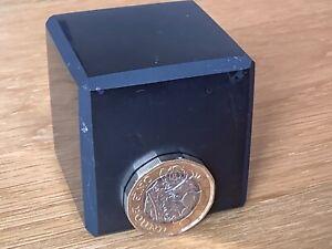 Large Shungite Cube 4.3cm. Protection from EMF & Geopathic Stress. 5G. Polished